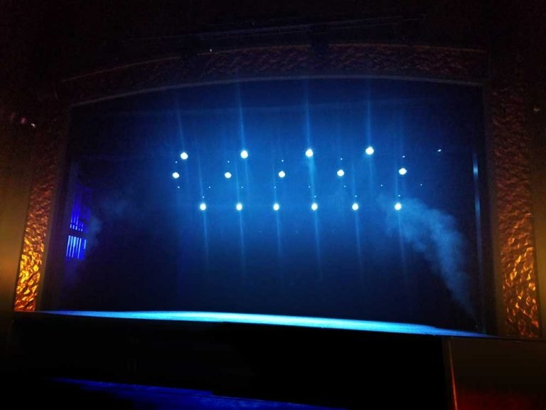 a Photograph of Carteret Performing Arts Center Stage Lights