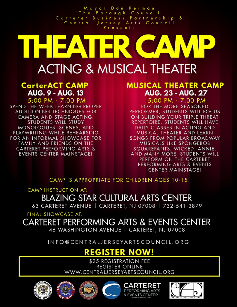 Theater Camp at Carteret Performing Arts and Events Center